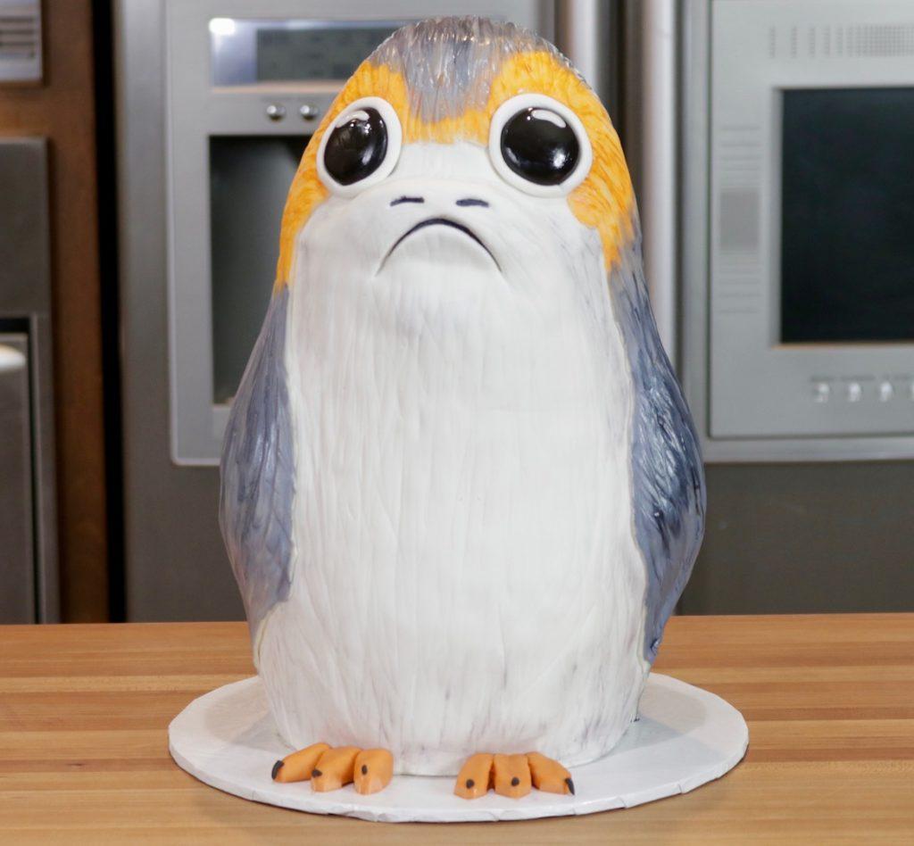 Porg Cake